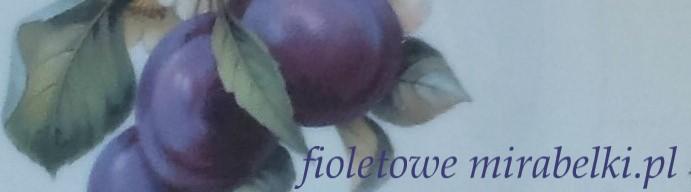 fioletowe mirabelki